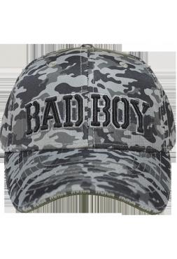 Кепка Bad Boy Bad Military light Camo Grey