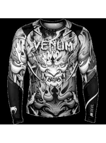 Рашгард Venum Devil Grey