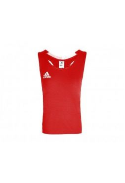 Майка боксерская Adidas AIBA Competition Boxing Tank красная