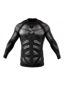 Рашгард SMMASH Dark Knight LS Grey
