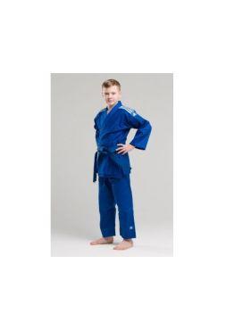 Детское кимоно Adidas для дзюдо Club синее
