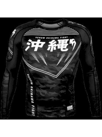 Рашгард Venum Okinawa 2.0 Black/White
