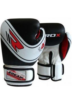 Детские боксерские перчатки RDX JBG-4B 6oz White/Black