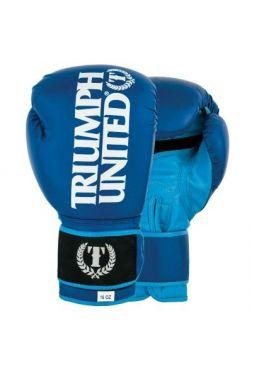 Боксерские перчатки TRIUMPH UNITED TBC Blue