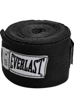 Бинты Everlast 2,75m Black