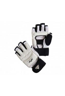 Перчатки Adidas для тхэквондо WTF Fighter Gloves белые
