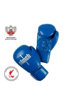 Перчатки для бокса Clinch Olimp Plus синие