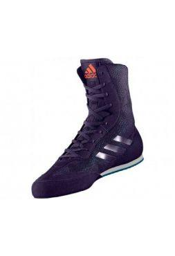Боксерки Adidas Box Hog Plus сине-оранжевые