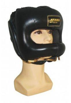 Шлем АТАКА BOXING с защитным бампером Black