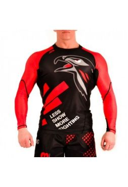 Рашгард ACB Berkut LS Black/Red