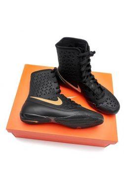 Боксерки Nike KO Boxshoe Black/Gold