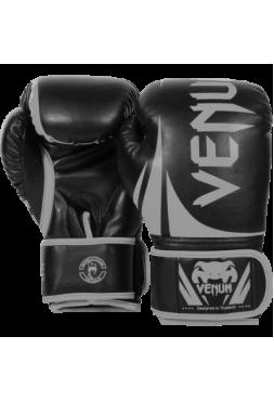 Перчатки для бокса Venum Challenger 2.0 Black/Grey
