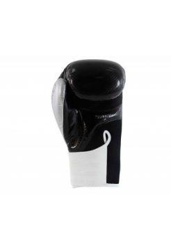 Перчатки для бокса Adidas Hybrid 75 Черно-белые-серебристые