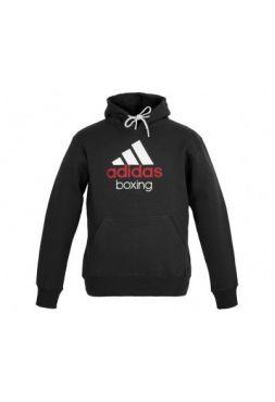 Толстовка Adidas Community Boxing черно-белая