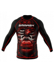 Рашгард SMMASH Blood  LS Black 3.0