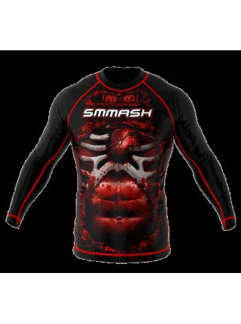 Рашгард SMMASH Blood  LS Black 3.0