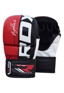 Перчатки MMA RDX спарринговые Rex Red