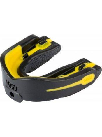Капа MOGO 1-челюст. черн. лимон
