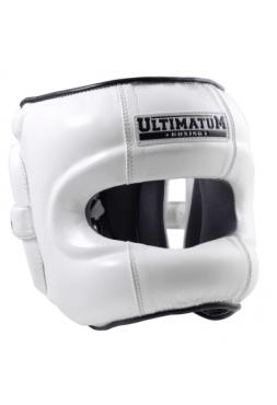 Шлем Ultimatum с бамперной защитой Gen3FaceBar White