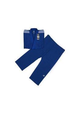 Кимоно Adidas для дзюдо Contest синее