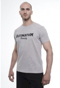 Футболка Ultimatum Boxing BaseLine Grey