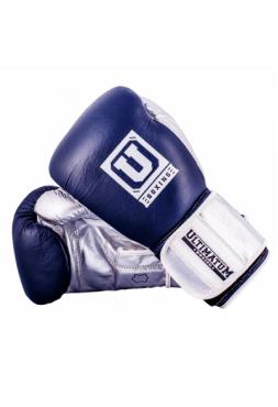 Боксерские перчатки Ultimatum тренировочные Gen3Pro NavySilver