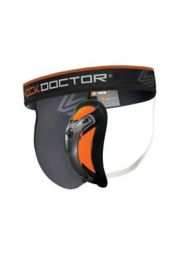 Защита паха Shock Doctor Ultra Pro Grey/Orange