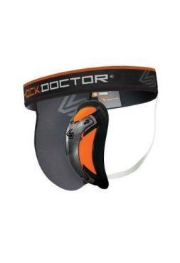 Защита паха Shock Doctor Ultra Pro Grey/Orange