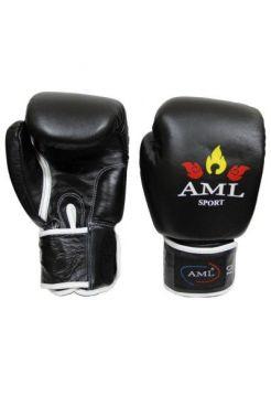 Перчатки для бокса AML Sport Bangkok Black
