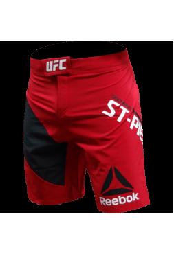 Шорты Reebok UFC Georges St-Pierre Octagon Red