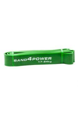 Резиновая петля BAND4POWER зеленая (17-54кг)
