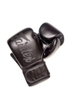 Перчатки для бокса Fairtex BGV14SB Solidblack