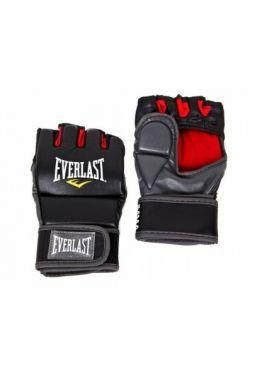 Перчатки Everlast тренировочные Grappling Black