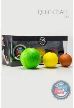 Спортивный Тренажер QUICK BALL-SET (набор 3 мяча)
