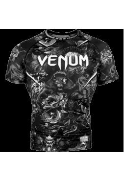 Рашгард Venum Art Black SS