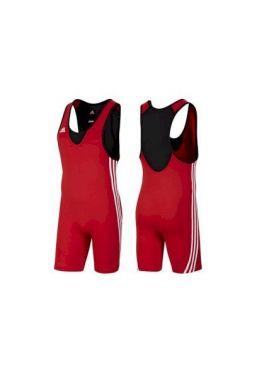 Трико Adidas борцовское Base Wrestler красное
