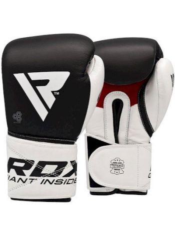 Перчатки для бокса RDX Leather S5 Black