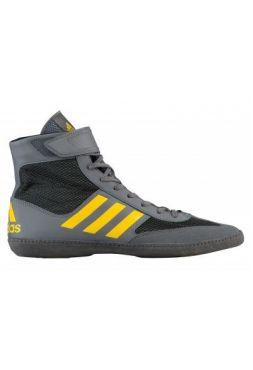 Борцовки Adidas Combat Speed.5 Grey/Yellow