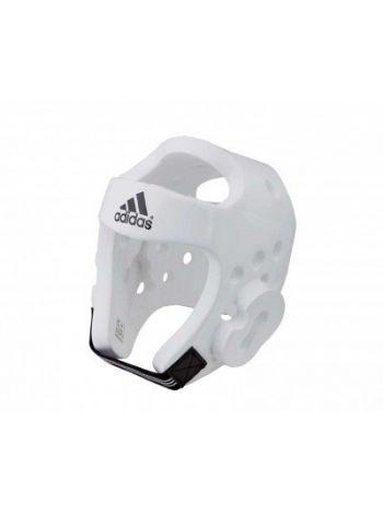Шлем Adidas для тхэквондо Head Guard Dip Foam WTF белый