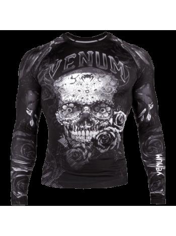 Рашгард Venum Santa Muerte 3.0 LS Black/White