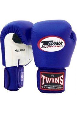 Боксерские перчатки Twins Air Flow BGVLA-2 Blue/White