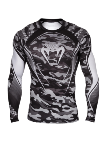 Рашгард Venum Camo Hero Grey
