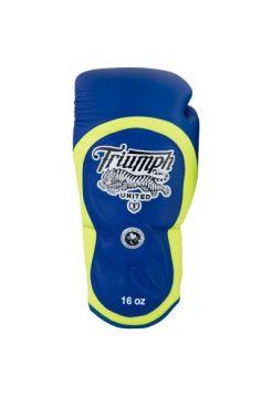Боксерские перчатки TRIUMPH UNITED Series Pro Muay Thai Blue