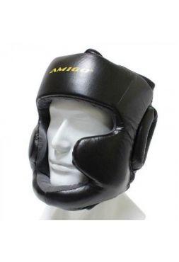 Шлем AMIGO с защитой скул и подбородка