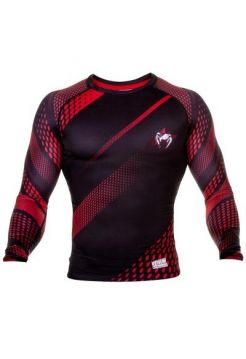 Рашгард Venum Rapid LS Black/Red