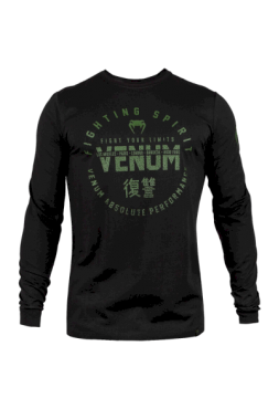 Лонгслив Venum Signature Black