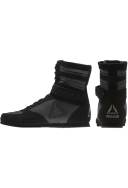 Боксерки Reebok Boxing Boot - Buck Black/Grey