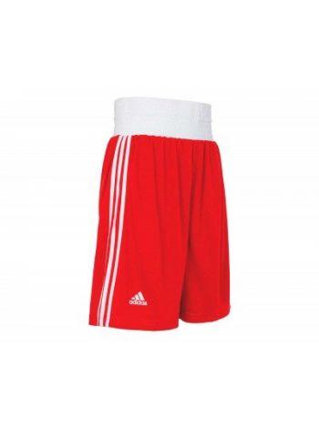 Шорты боксерские Adidas Boxing Short Punch Line красные