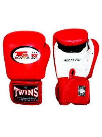 Боксерские перчатки Twins Air Flow BGVLA-2 Red/White