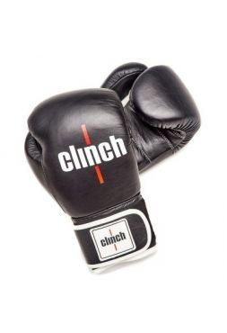 Боксерские перчатки Clinch Pro черные